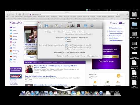 How to clear cookies on mac in mountain lion