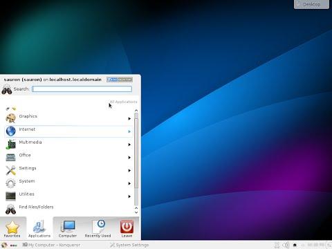 CentOS 7.0 x86_64. KDE desktop.