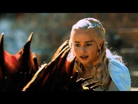 Daenerys flying Drogon soundtrack