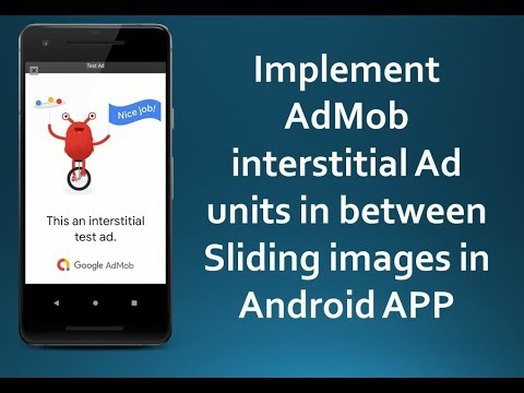Placing AdMOb Interstitial Ads in between sliding Images using ViewPager in Android App