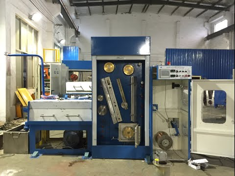 HXE-24DWT Fine wire drawing machine with continuous annealing in India