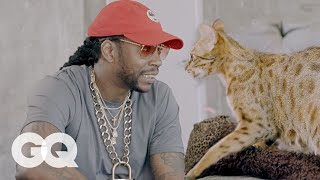 2 Chainz Finds Out How Cats Mate | Most Expensivest Sh*t Bonus Clip | GQ