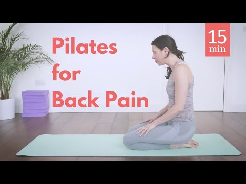 15 min Pilates Workout for Back Pain - Be Pain Free!