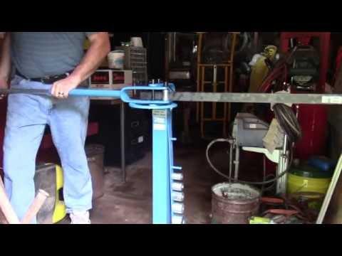 Making 90 deg bends in 1/4