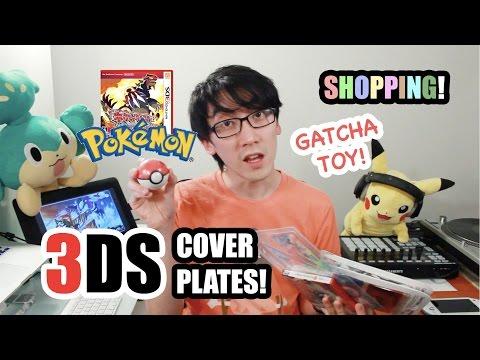 Pokemon Omega Ruby/Alpha Sapphire Shopping! + Cover Plates and Gatcha Gatcha!