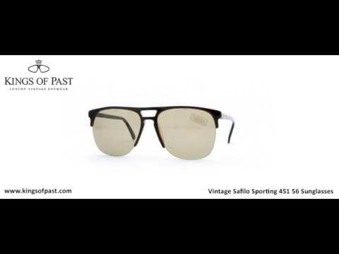 Vintage Safilo Sporting 451 56 Sunglasses