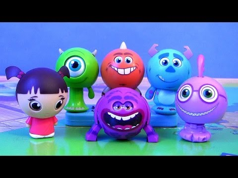 Disney Roll a Scare Monsters University Surprise Pop-up Toys from Disney Pixar Monsters Inc.