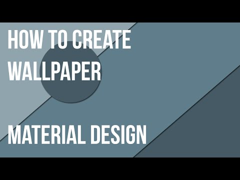 Material Design Photoshop Tutorial | Material design