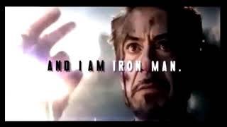 Download I Am Iron Man Heart Breaking Scene End-game WhatsApp Status Video