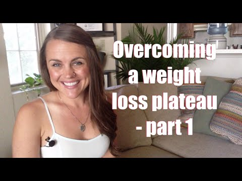 Overcoming a weight loss plateau (part 1)