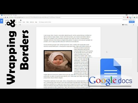 How To Wrap Text Around An Image In Google Docs