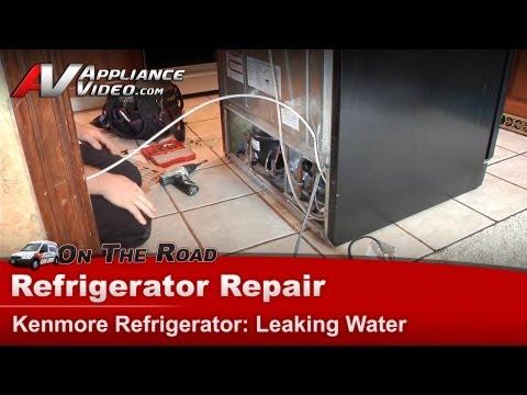 Sears, Kenmore, Whirlpool & Maytag  Refrigerator Repair & diagnostic - Leaking water on floor