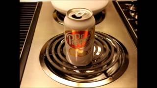 Pop Can Implosion Experiment