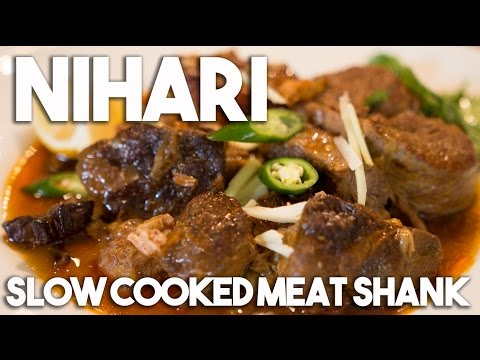 NIHARI - Meat Shank slow cooked in spices (Gluten free)