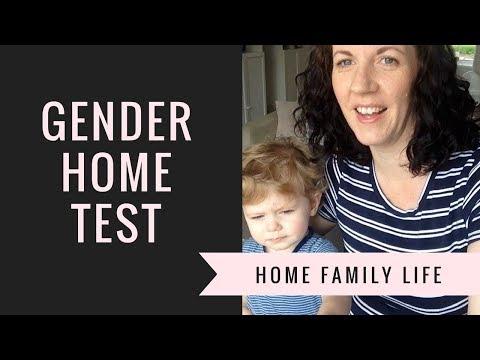 Baby Gender Test | Boy or Girl? | Home Family Life