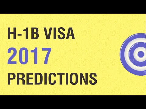 H1B Visa 2017 Predictions: Your Chances In The H1B Visa Lottery 2017