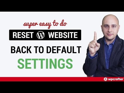 How To Reset A WordPress Website Back To Default 🙀 - Better Than Reinstalling WordPress