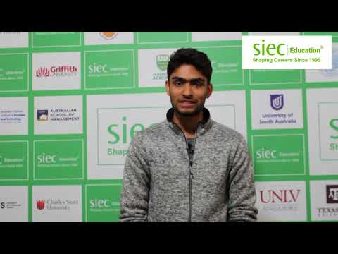 Video Testimonial by Mandeep about SIEC Education after getting Study Visa for Australia