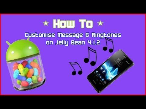 HowTo : Set custom message alerts & ringtones on Jelly Bean 4.1.2 OS | r0bac