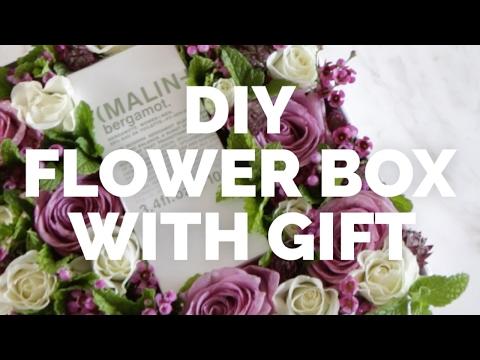 DIY Flower Box | Roses | Gift