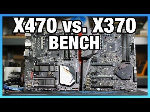 X470 vs. X370 Chipset Differences, Benchmark, & Specs Comparison