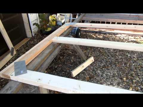 garage door build part 1 of 3 maxwellsworld
