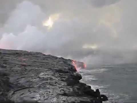 Kilauea Ocean Entry August 12, 2008