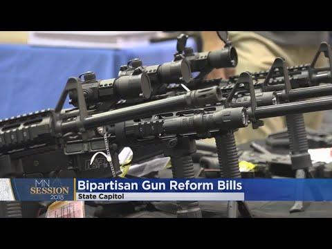 2 Bipartisan Gun Control Bills Introduced In Minnesota