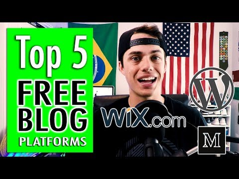 Top 5 Free Blog Sites in 2018