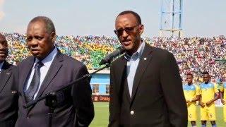 President Kagame opens CHAN 2016-Rwanda | Kigali, 16 January 2016