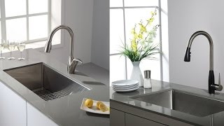 Kraus Undermount Single Bowl Stainless Steel Kitchen Sink With 16 Gauge Steel For Added Durability