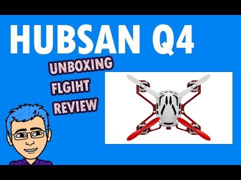 Hubsan Q4 Nano Drone - Unboxing + Flight (Worlds Smallest Quad Copter)