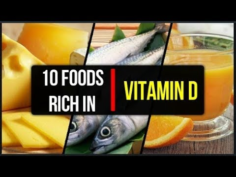 10 foods high in vitamin D | Top 10 Vitamin D food Sources