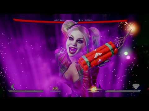 Injustice 2 - Harley Quinn VS Superman