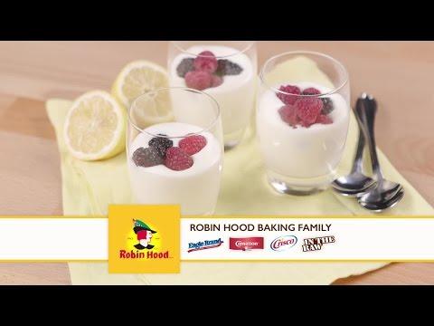 Lemon Mousse With Fresh Berries