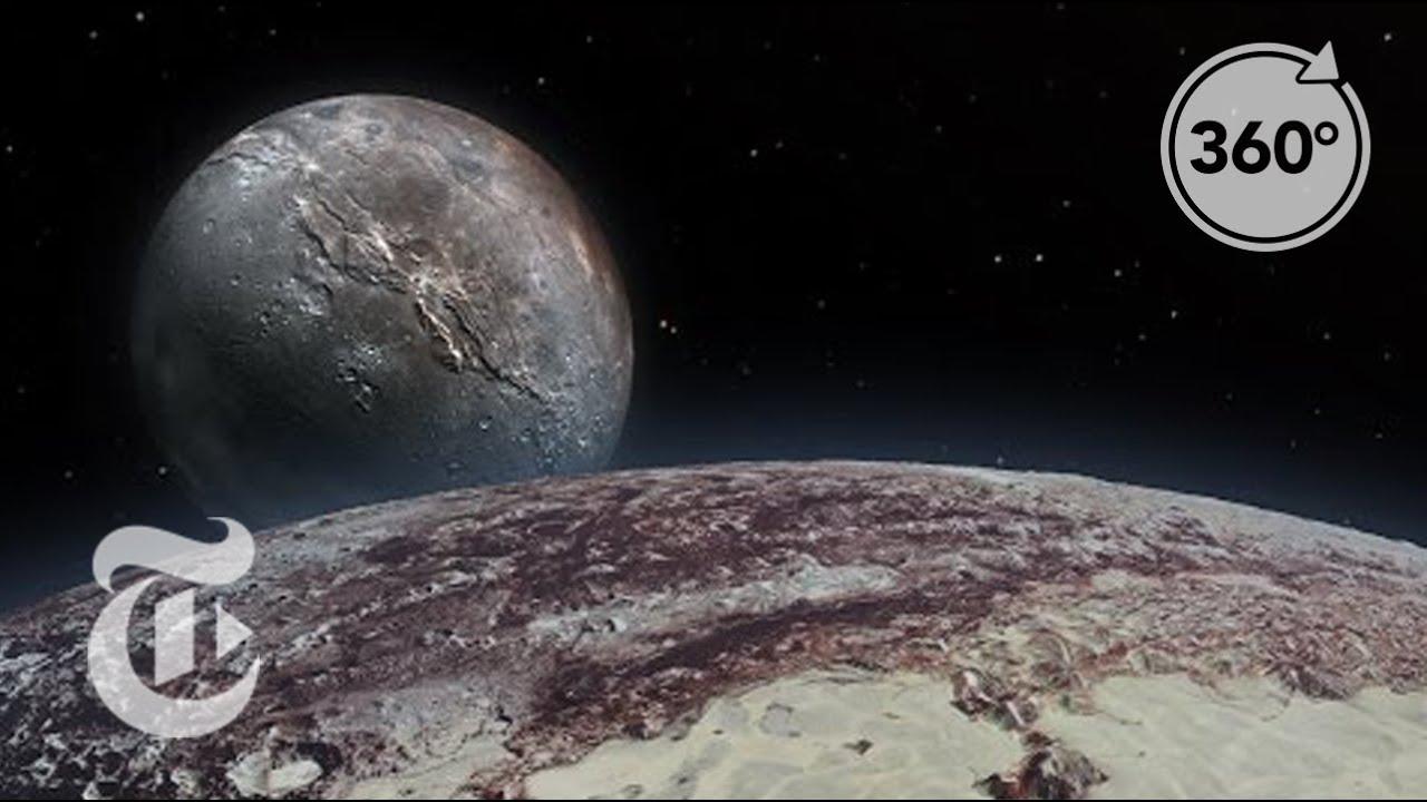 Seeking Pluto's Frigid Heart   360 VR Video   The New York Times
