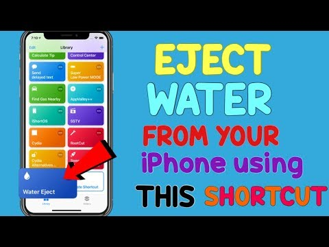 How to Eject Water From your iPhone Using This Shortcut! (iOS 12 & Up!)