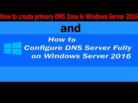 How to create primary DNS Zone in Windows Server 2016 - 32