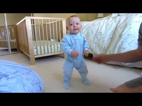 Stages of Learning to Walk