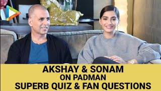 Akshay Kumar | Sonam Kapoor | Padman |  Full Interview