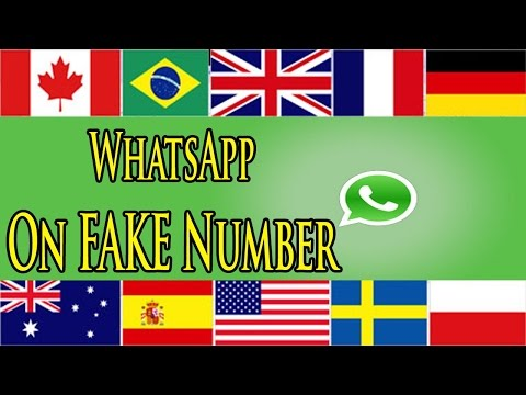 How To use International Number In Whatsapp/USA Number Free
