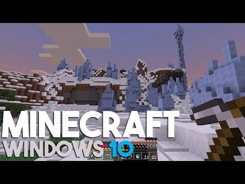 Minecraft Windows 10 Edition Let's Play: Why Didn't I use a Compass! (Episode 46)