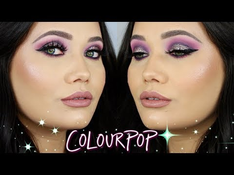 Glam Colourpop Makeup Tutorial