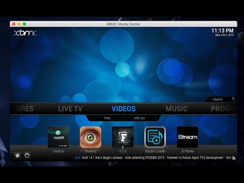 kodi how to put add ons as ICON on main screen