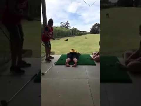 Failed at human golf!!NOT, WINNER