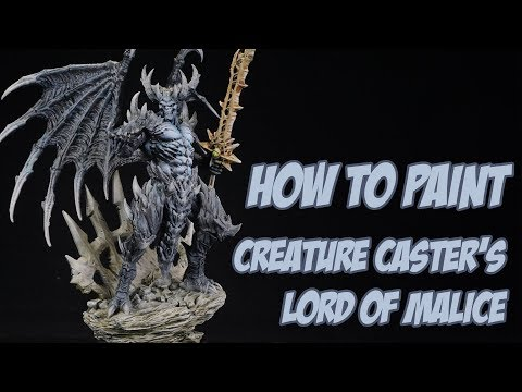 How to Paint Creature Caster's Lord of Malice