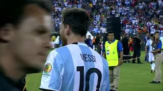Lionel Messi emotional after heartbreaking loss in Copa America final