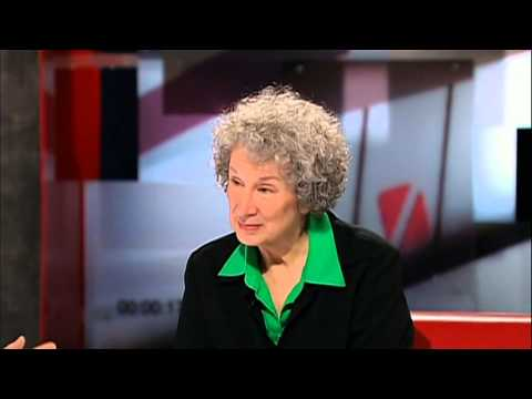 Margaret Atwood's first interview with George Stroumboulopoulos on The Hour