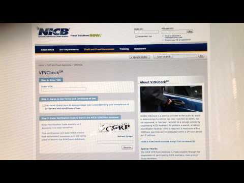 FREE VIN CHECK FOR CARS in the United States NO Carfax needed