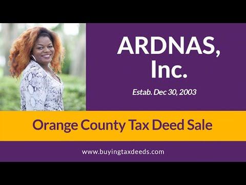Orange County Tax Deed Sale www.QueenOfTaxDeeds.com